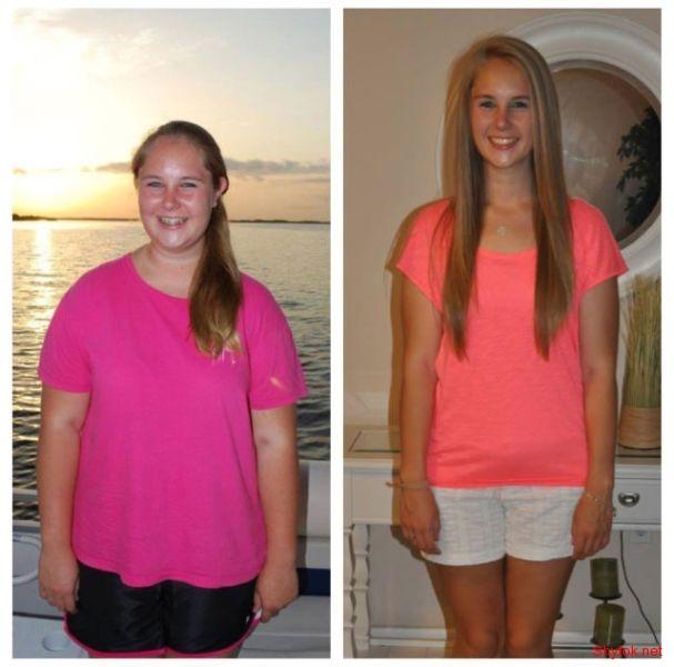 Фото до и после похудения подростков